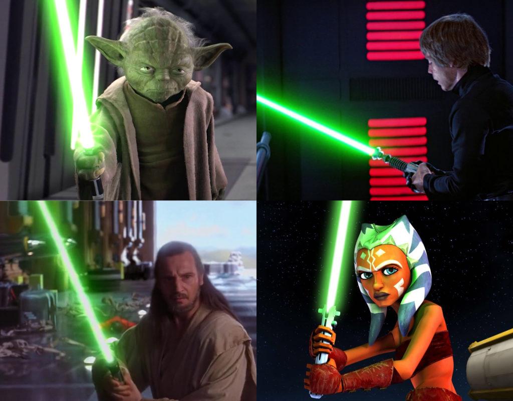lightsaber verdi