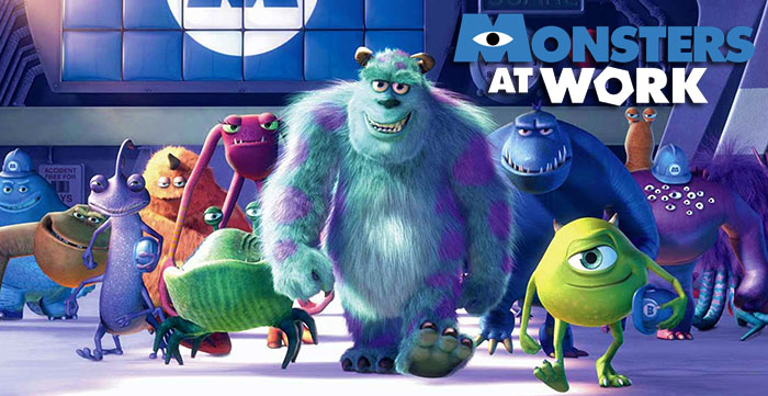 Monsters at Work, prossima serie di Disney+