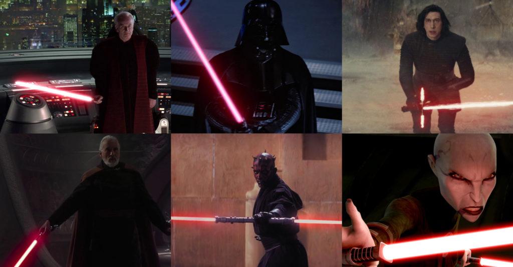 Spada Laser Rossa