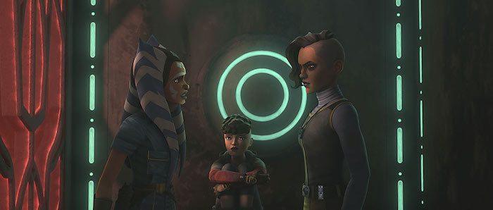 Ahsoka e le sorelle in The Clone Wars