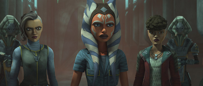 Ahsoka e le sorelle in The Clone Wars 7