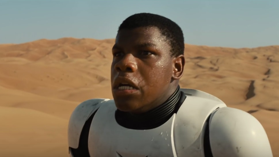 Finn in star wars easter egg