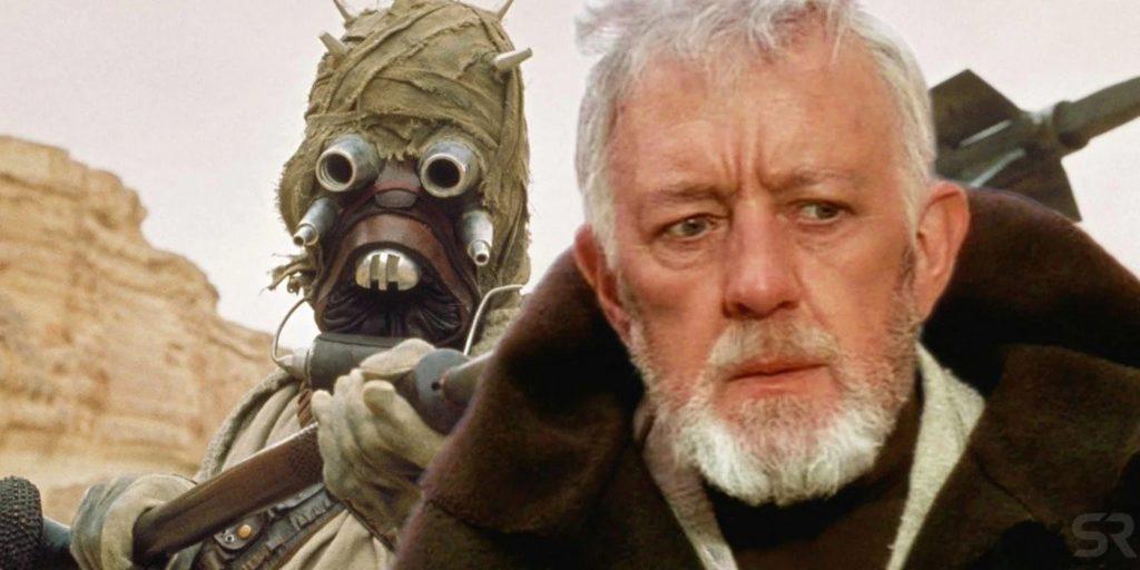 Obi-Wan Kenobi e un predatore Tusken
