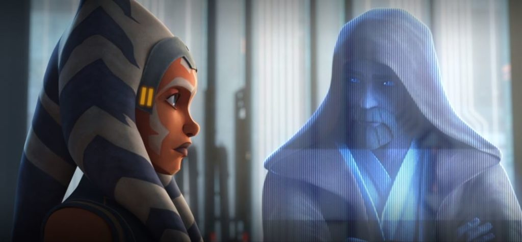 ahsoka e obi-wan the clone wars