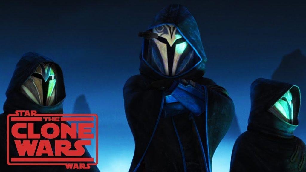 I Mandaloriani nel settimo episodio di The Clone Wars