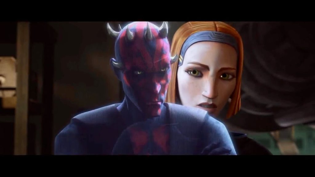 Maul e Bo-Katan in The Clone Wars 7