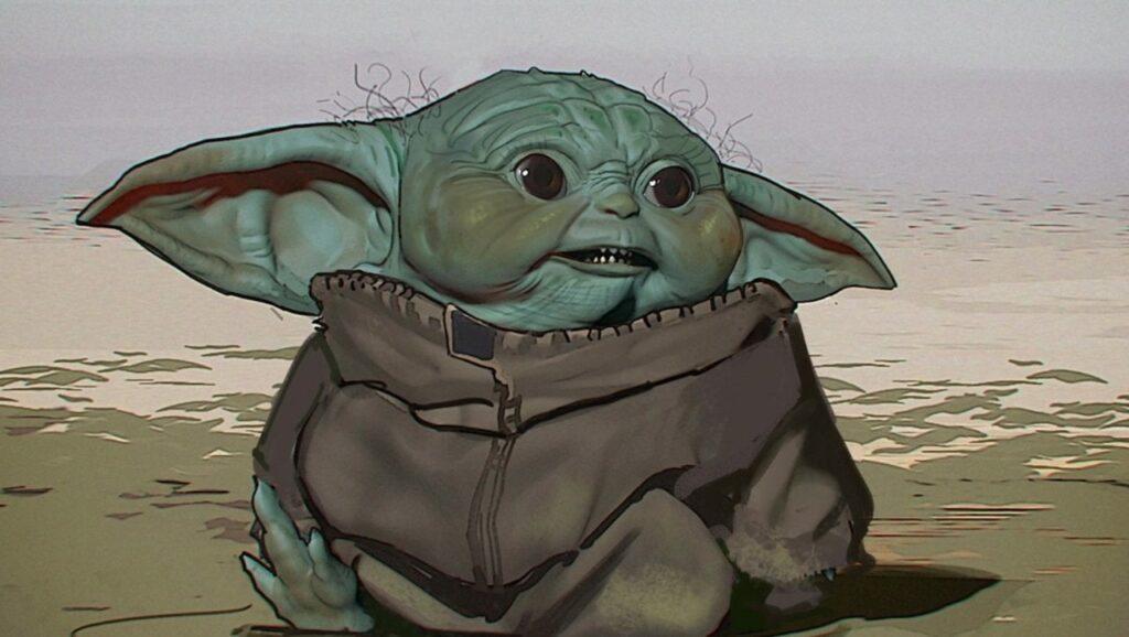 concept originali baby yoda