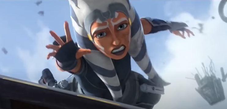 ahsoka in the clone wars