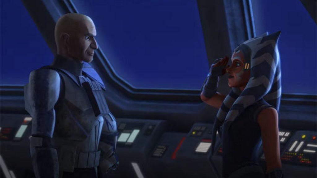 Ahsoka e Rex in The Clone Wars, 7 stagione, episodio 11