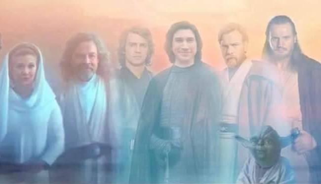 Fantasmi di Forza finale Rise Skywalker