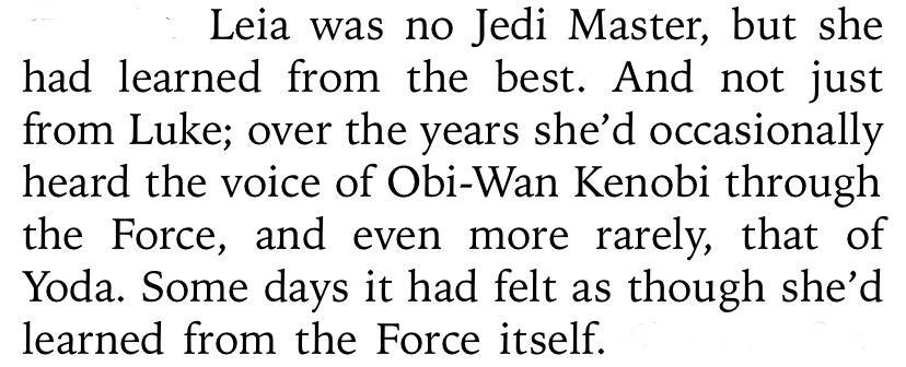 Leia Voci Jedi Passato