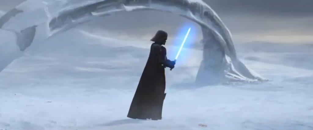 Darth Vader nel finale di The Clone Wars.