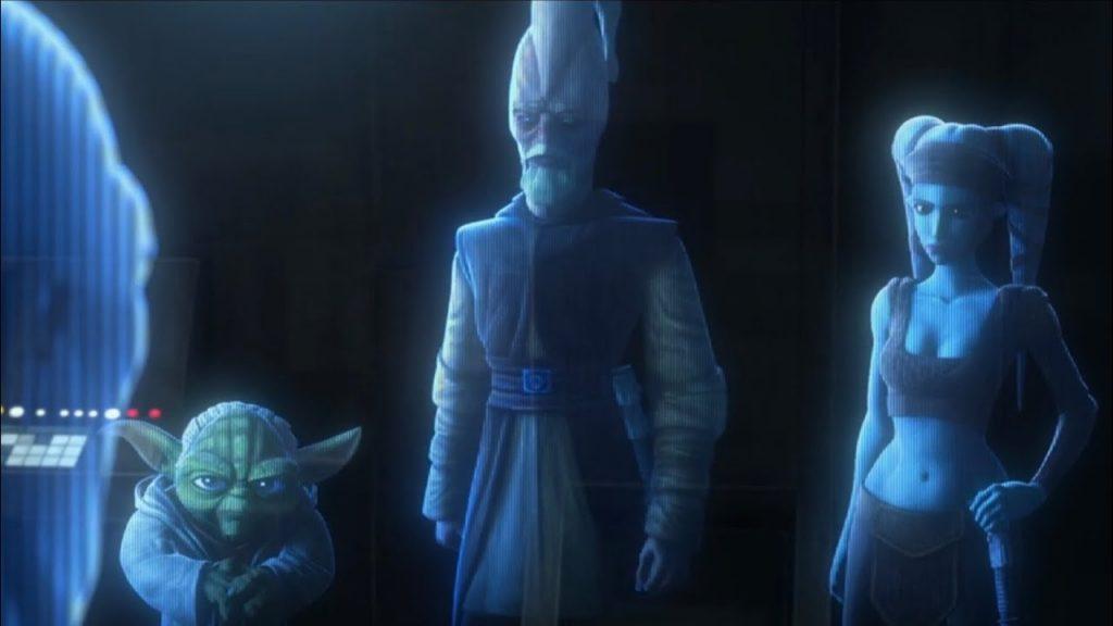 Il consiglio Jedi in The Clone Wars, forse per l'ultima volta.