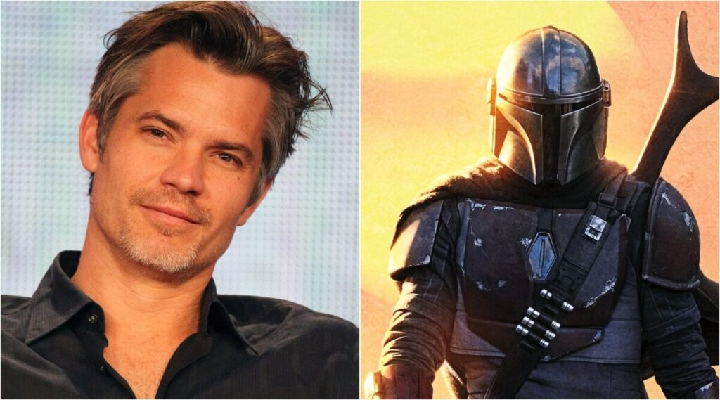 Timothy Olyphant in the mandalorian