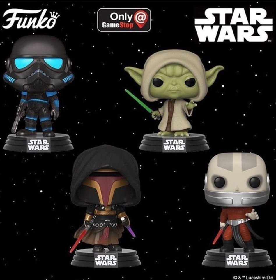 I nuovi Funko pop di Star Wars
