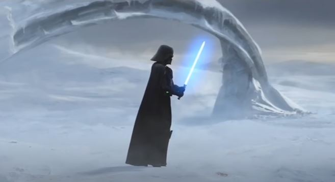 darth vader in the clone wars
