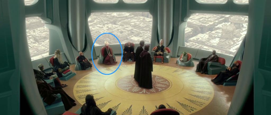 Alto Consiglio Jedi Attacco Cloni