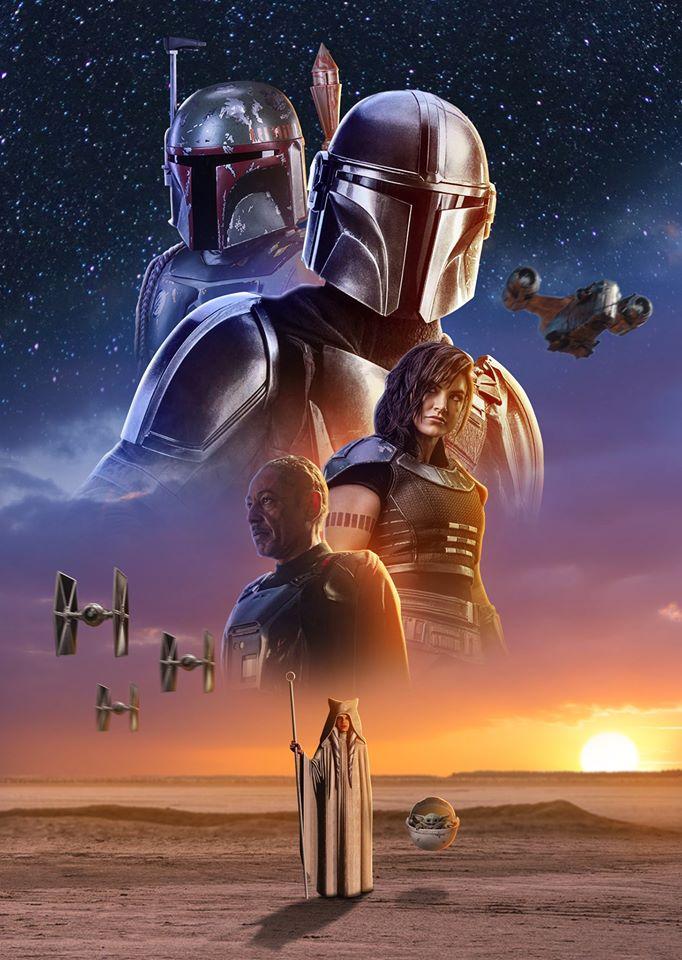 The Mandalorian Fan poster