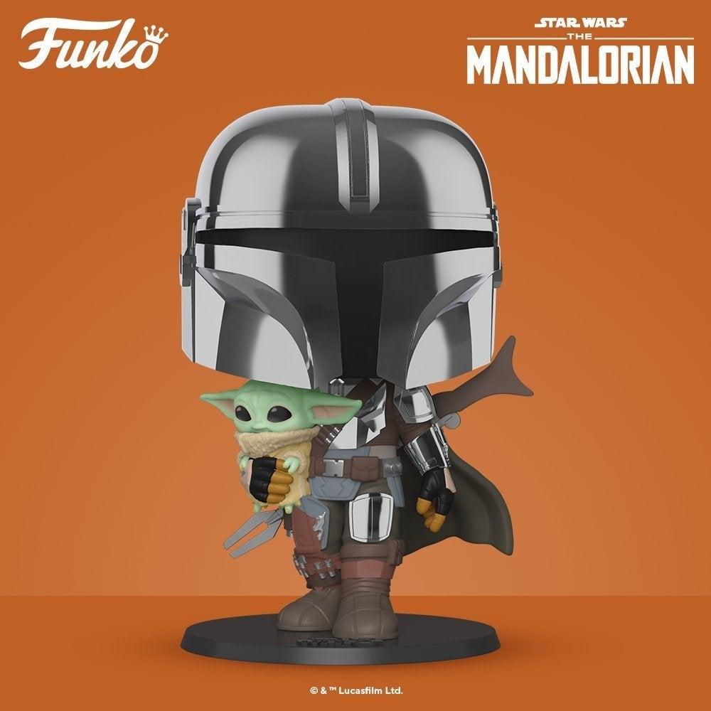 funko pop the mandalorian