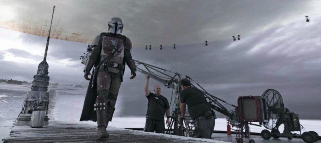 Un'immagine della tecnologia di The Mandalorian, che verrà utilizzata anche sulla serie su Obi-Wan Kenobi.