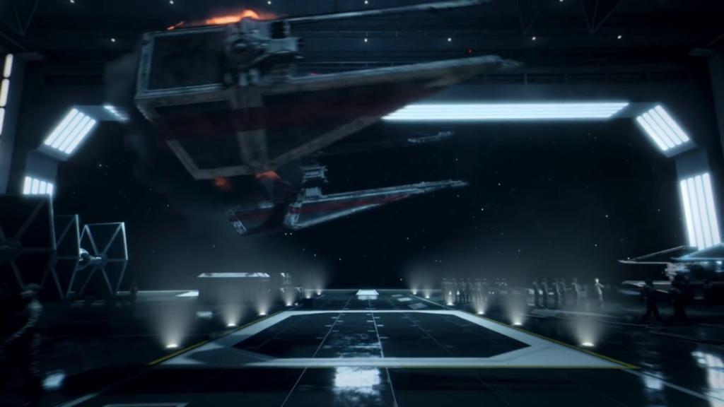 Tie Interceptor in star wars squadrons