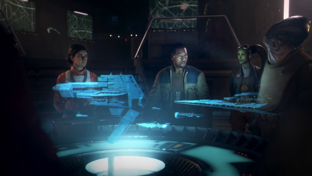 Hera e Starhawk nel trailer di squadrons