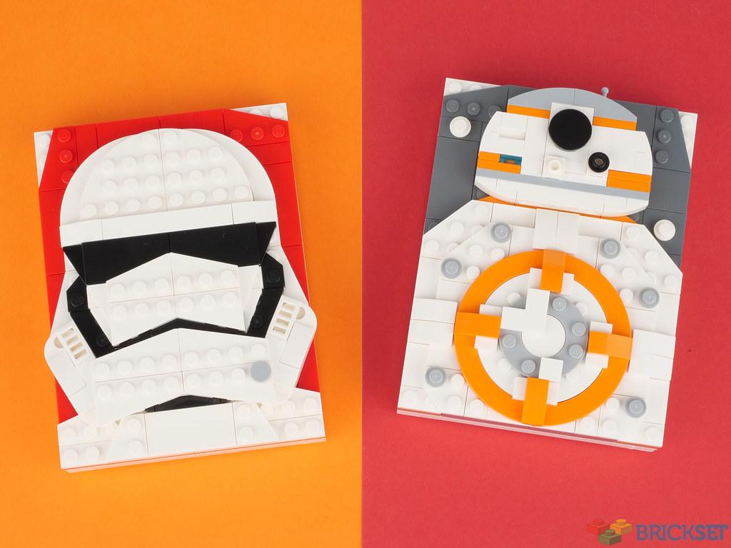 I nuovi Brick Sketches Lego di Star Wars
