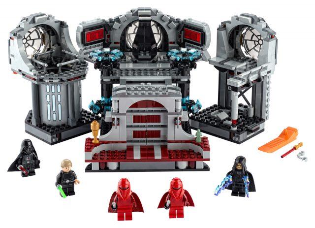 Il nuovo set Lego Star Wars del Duello nella Morte Nera.