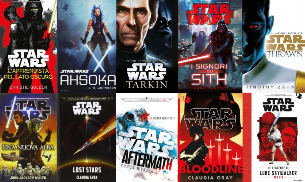 guida ai romanzi di star wars canonici