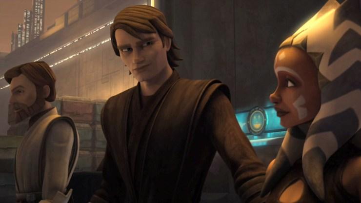 I tre protagonisti di The Clone Wars