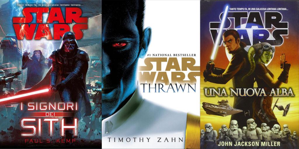 guida ai romanzi di star wars