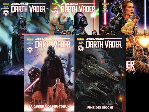 fumetti di star wars darth vader