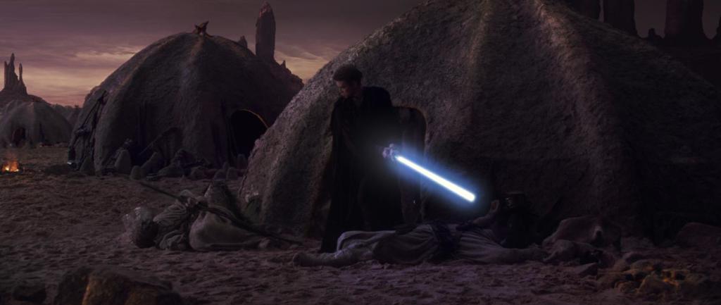 Anakin Skywalker uccide i Sabbipodi