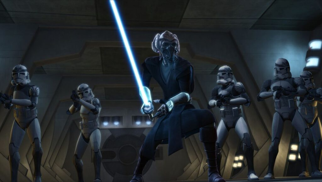 Plo Koon in star wars
