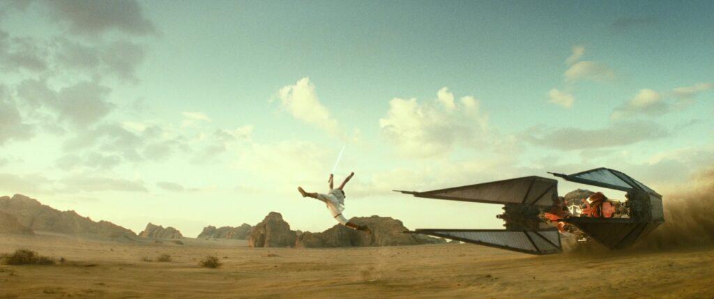 rey skywalker salti ascesa