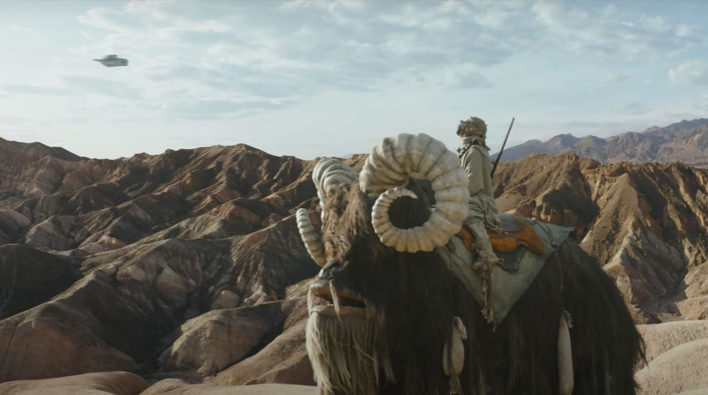 tatooine nel trailer di the mandalorian