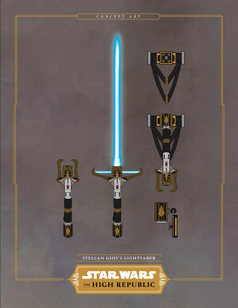 concept spada laser dell'alta repubblica