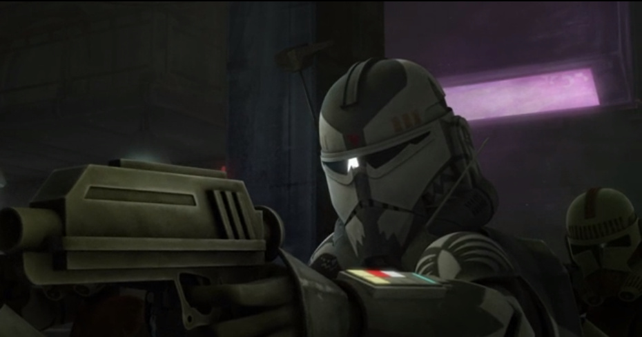 Wolffe in star wars