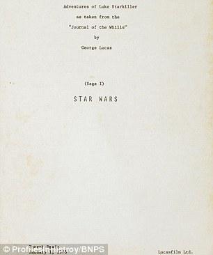 La storia dello script di Star Wars