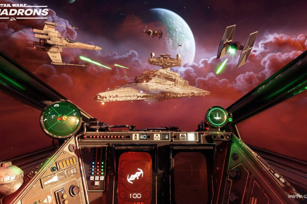 gameplay star wars squadrons