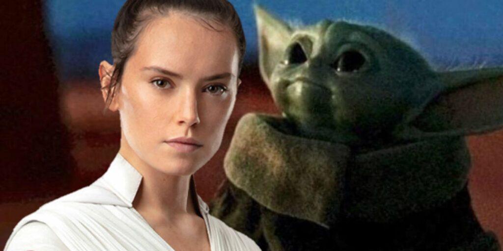 Rey e Baby-Yoda