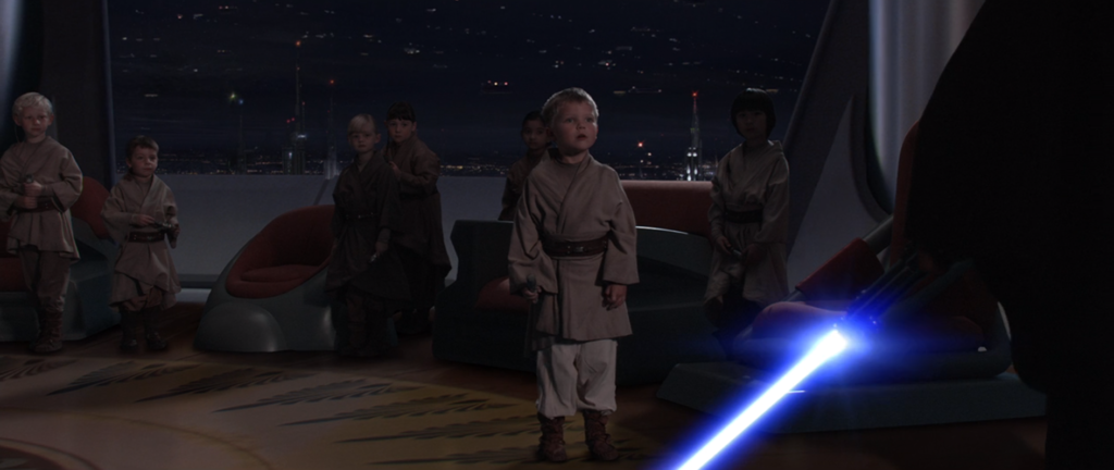 Anakin e gli younglings