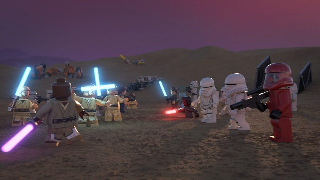 Un'immagine del LEGO Star Wars Special