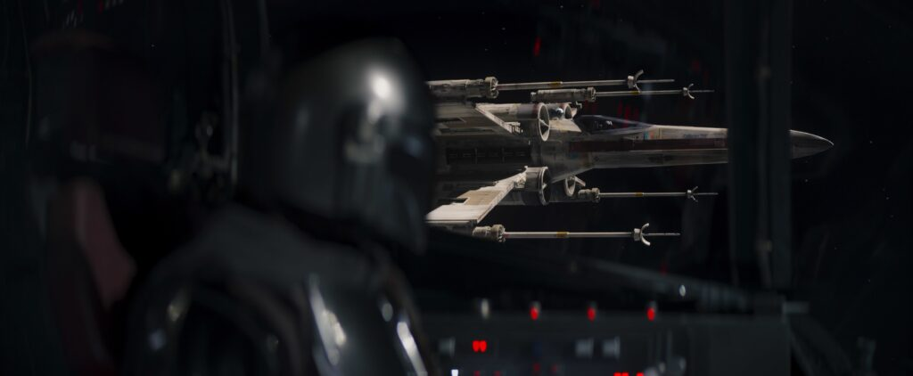 Mando e gli X-Wing in the Mandalorian