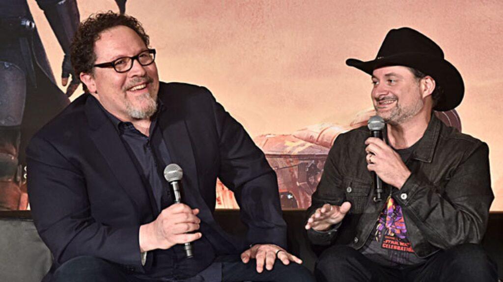 the mandalorian Jon Favreau e Dave Filoni