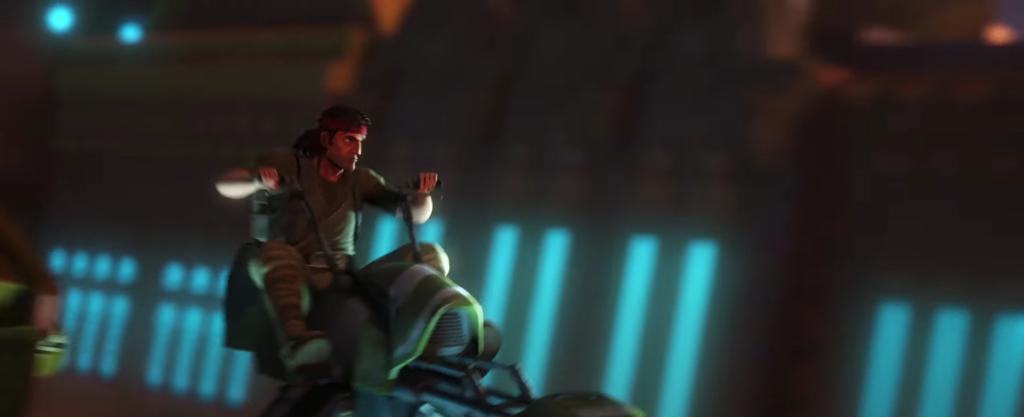 Hunter nel trailer