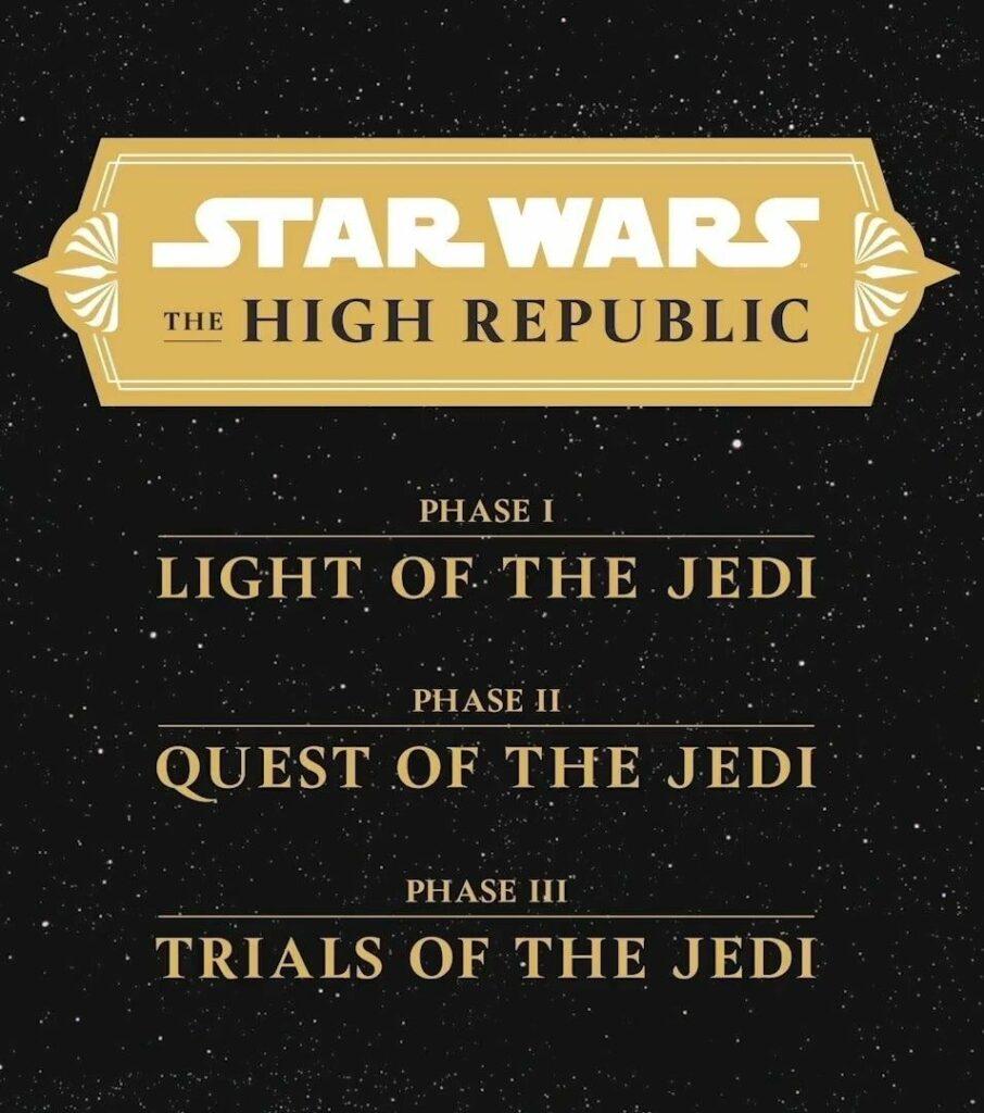 alta repubblica star wars