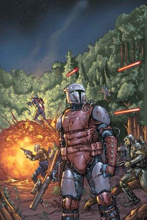 mando guerre mandaloriane