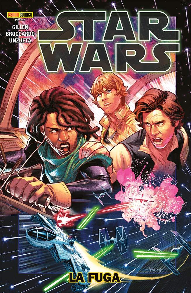 la fuga fumetti star wars