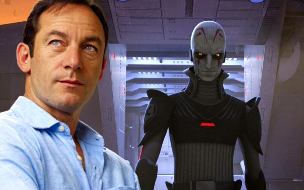 Il Grande Inquisitore e il suo doppiatore Jason Isaacs